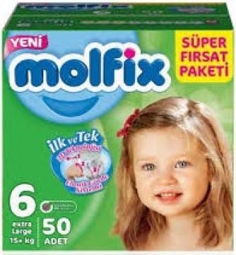 Molfix Fırsat Paketi Extra Large 50'li No 6 Çocuk Bezi