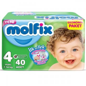 Molfix Jumbo Maxi 40'lı No 4 Çocuk Bezi