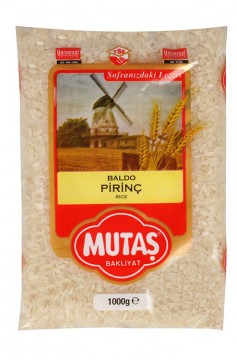 Mutaş Pirinç Baldo 1 Kg