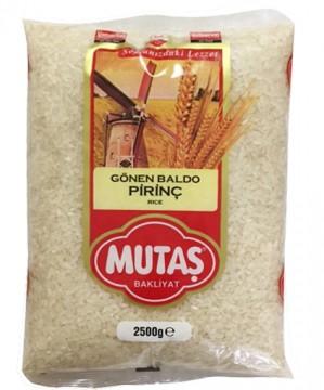 Mutaş Pirinç Baldo 2,5 Kg