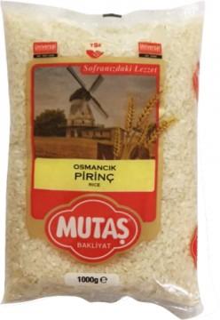 Mutaş Pirinç Osmancık 1 Kg
