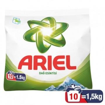 Ariel Matik Çamaşır Deterjanı 1,5 Kg Dağ Esintisi