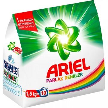 Ariel Matik Çamaşır Deterjanı 1,5 Kg Parlak Renkler