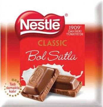 Nestle 70 Gr Kare Klasik Sütlü