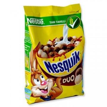 Nestle Nesquik Duo Çikolatalı Buğday Ve Mısır Gevreği 310 Gr