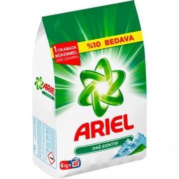 Ariel Matik Çamaşır Deterjanı 6 Kg Dağ Esintisi