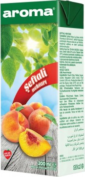 Aroma Meyve Suyu 1/5 Lt Şeftali