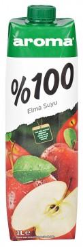 Aroma Meyve Suyu 1 Lt %100 Elma