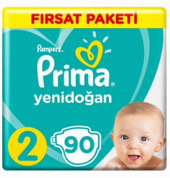 Prima Hiper Ekonomi Mini 3-6 Kg 90 lı Çocuk Bezi