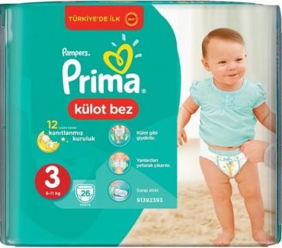 Prima Pants Midi 26 lı No 3 Çocuk Bezi