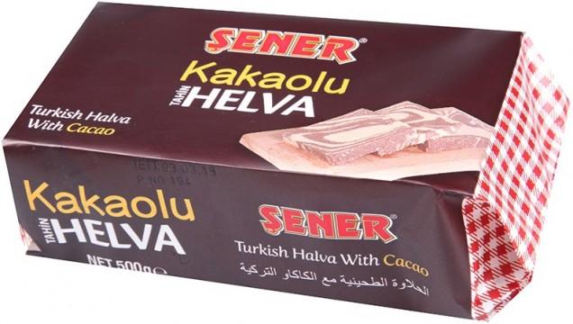 Şener Helva 500 Gr Kakaolu