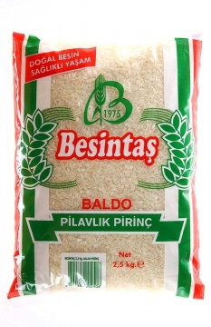 Besintaş Baldo 2.5 Kg Pirinç