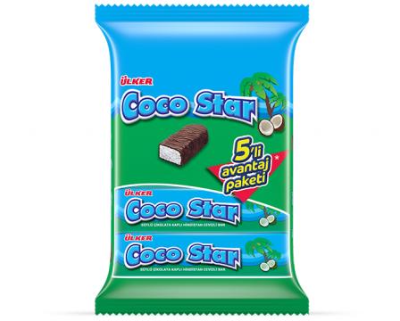 Ülker Cocostar 5x28 Gr