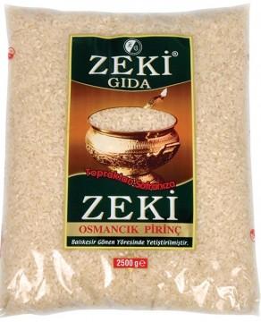 Zeki Osmancık Pirinç 2,5 Kg