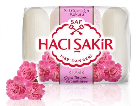Hacı Şakir Güzellik Sabunu 4x70 Gr Çiçek Terapisi