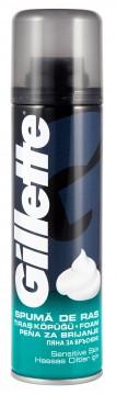 Gillette Tıraş Köpüğü 200 ML Hassas Ciltler