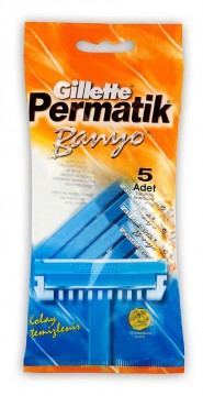 Permatik 5'li Banyo Tıraş Bıçağı