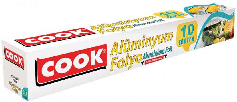 Cook Alüminyum Folyo 10 Mt
