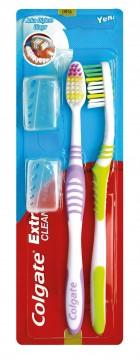 Colgate Extra Clean Diş Fırçası 1+1 Orta