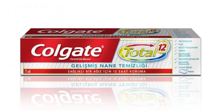 Colgate Total Diş Macunu 75 ML Gelişmiş Nane Temizliği