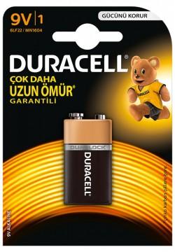 Duracell 9 Volt Pil Tek