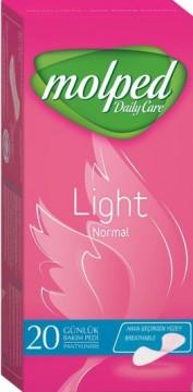 Molped Light Normal 20'li Hijyenik Günlük Ped