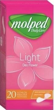 Molped Light Normal Flower 20'li Hijyenik Günlük Ped