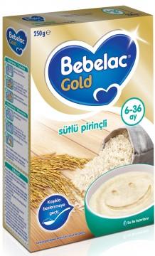 Bebelac Sütlü & Pirinçli Kaşık Maması 250 Gr