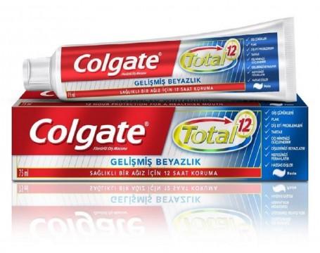 Colgate Total White Diş Macunu 75 ML Gelişmiş Beyazlık