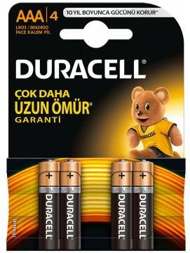 Duracell AA Kalem Pil 4'lü - D35R