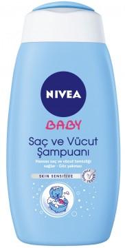 Nivea Baby Saç&Vücut Şampuanı 500 ML
