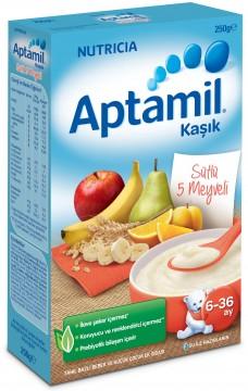 Milupa Aptamil 250 Gr 5 Meyveli