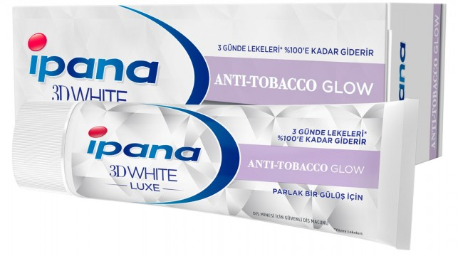 Ipana Lux 3 Boyutlu Beyazlık 75 ML Sigara İçenler - IP5K