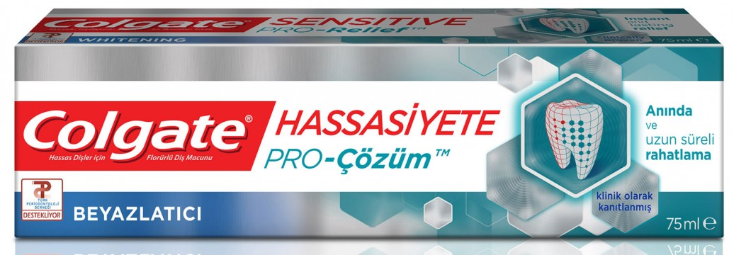 Colgate Sensitive Pro Relief Diş Macunu 75 ML White