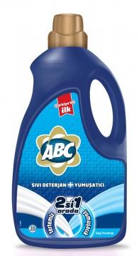 Abc Sıvı 2 si 1 Arada Çamaşır Deterjanı 2228 Gr Dağ Ferahlığı