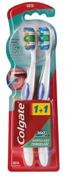 Colgate 360 Diş Fırçası 1+1 Orta
