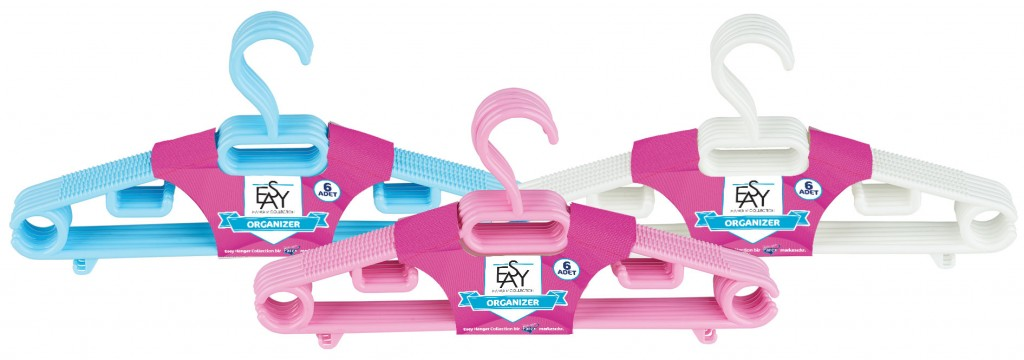 Parex Plastik Askı 6'lı