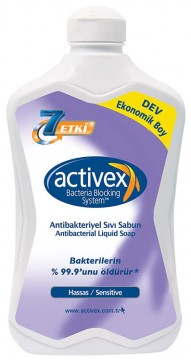 Activex Sıvı Sabun 1,5 Lt Hassas