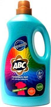Abc Sıvı Çamaşır Deterjanı 3 Lt Renkli