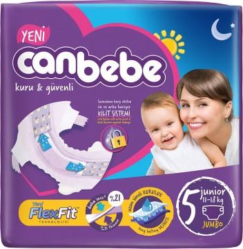 Canbebe Jumbo Junior 11-18 Kg 30'lu Çocuk Bezi