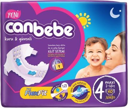 Canbebe Jumbo Maxi 7-14 Kg 40'lı Çocuk Bezi