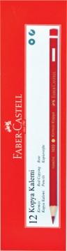 Faber Castell Kırmızı Kopya Kalemi 12 li