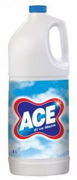 Ace Çamaşır Suyu 4 Lt Normal