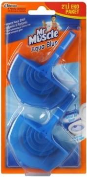 Mr.Muscle Aqua Blue Klozet Bloğu 2x40 Gr