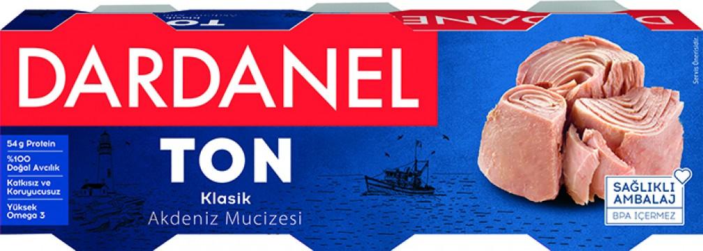 Dardanel Ton Balığı 3x80 Gr Klasik