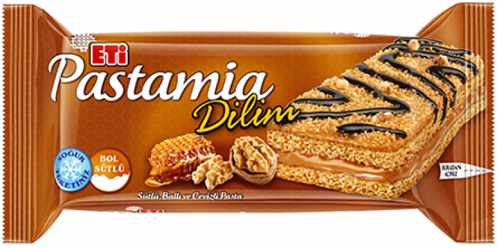 Eti Pastamia Ballı Cevizli Dilim Pasta 30 Gr