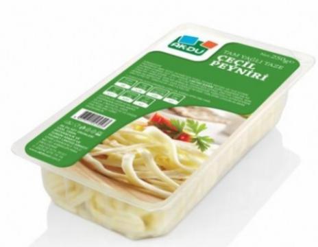 AKDU Tam Yağlı Taze Çeçil Peyniri 250 Gr