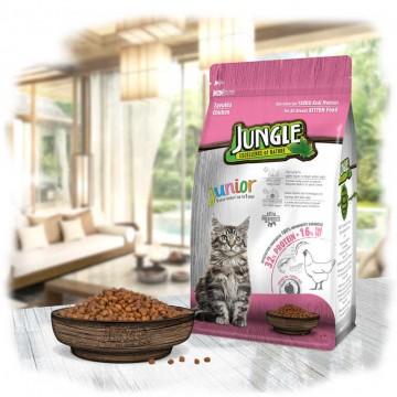 Jungle Yavru Kedi Maması Tavuklu 500 Gr - PTYB
