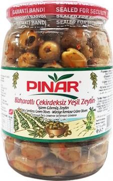 Pınar Yeşil Zeytin Soslu 400 Gr (320-380)