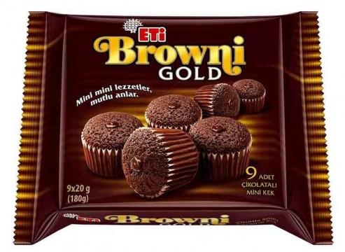 Eti Browni Gold Kek 180 Gr Mini Kakaolu